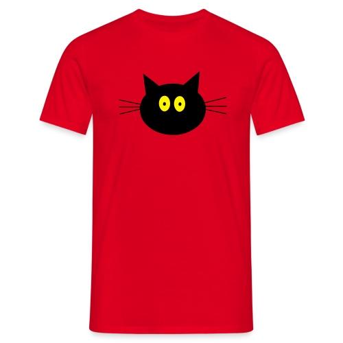Katze - rot - Männer T-Shirt