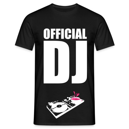 offical dj - T-shirt Homme