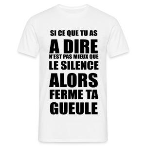 4c - T-shirt Homme