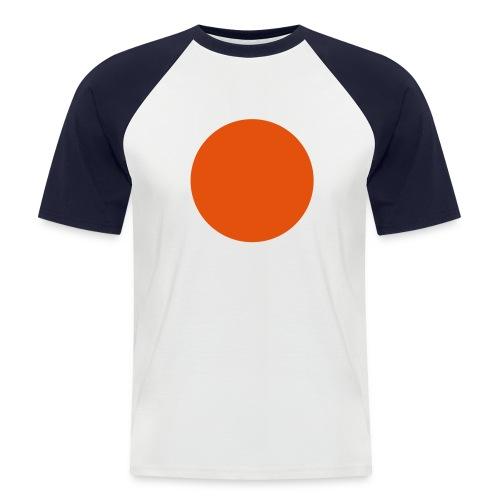 Dot - Männer Baseball-T-Shirt