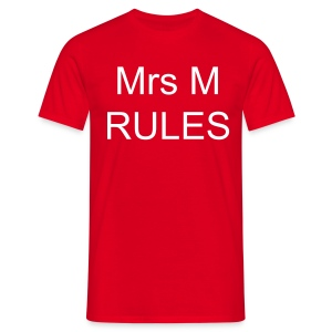 Mrs M Rules - Men's T-Shirt