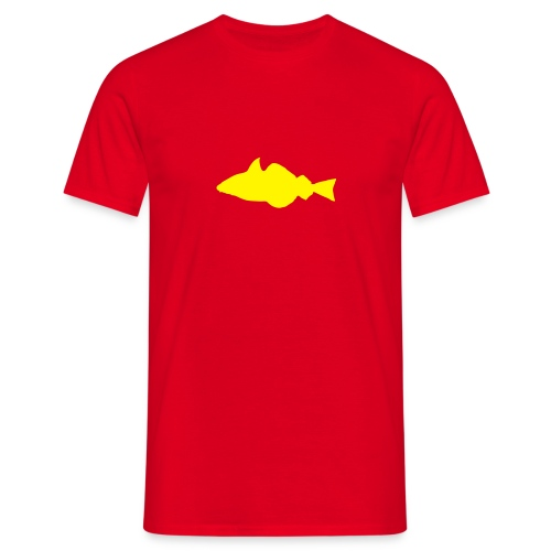 Fisch - rot/gelb* - Männer T-Shirt