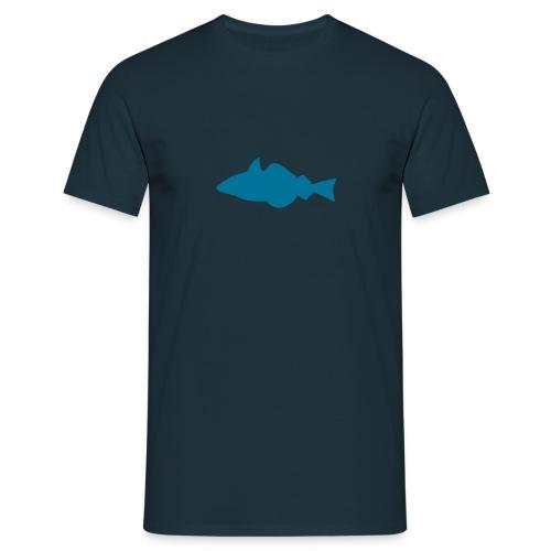 Fisch - marine/bleu - Männer T-Shirt