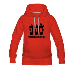 ZTK Spray-Extinguisher Hooded Sweatshirt - Women's Premium Hoodie
