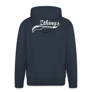ZTKings Zip Hooded Sweatshirt Jacket - Men's Premium Hooded Jacket