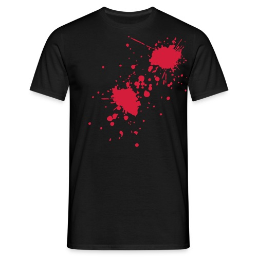 Blood Splatter T-Shirt - Men's T-Shirt