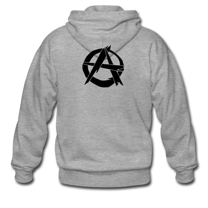 Veste Capuche Anarchy - Veste à capuche Premium Homme