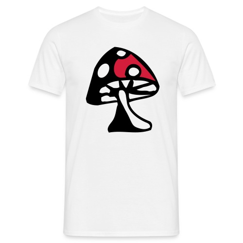 Mens Shroom T-shirt - Men's T-Shirt