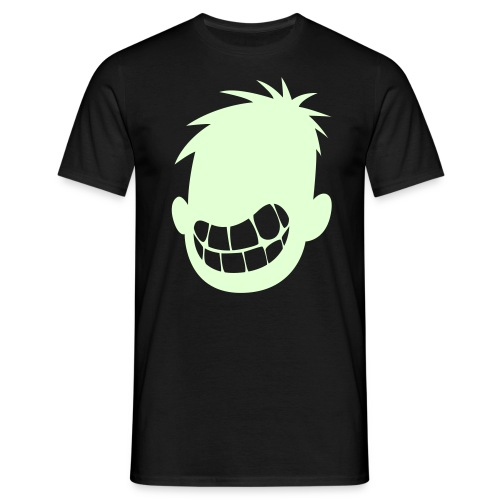 I Smile in the Dark Boys Basic-Tee - Men's T-Shirt
