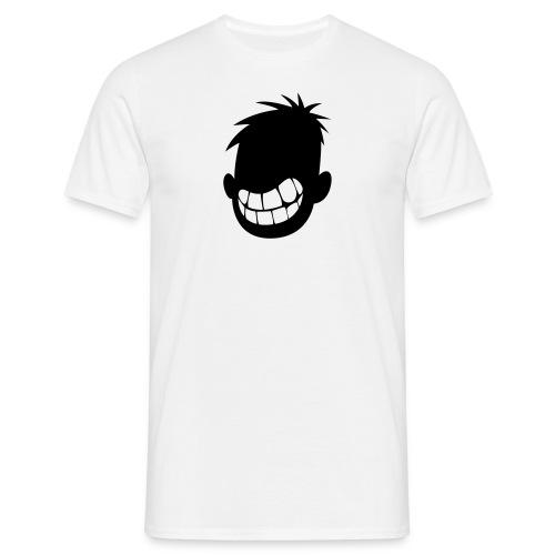 I Smile A Lot Small Logo Boys Basic-Tee - Men's T-Shirt