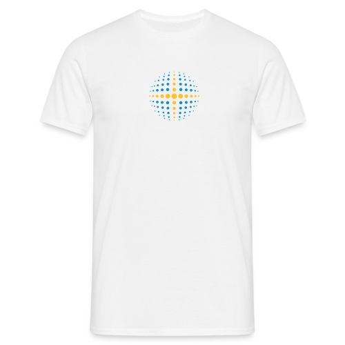 Mens Circle DotsT-shirt - Men's T-Shirt