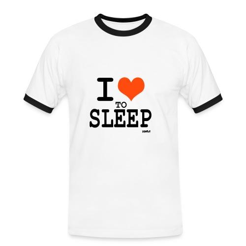 I love to Sleep - Men's Ringer Shirt