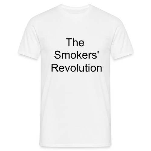 The Smoker's Revolution - Men's T-Shirt