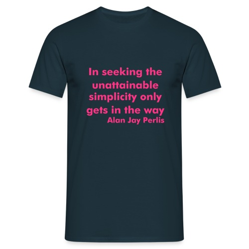 Unattainable Perlis - Men's T-Shirt