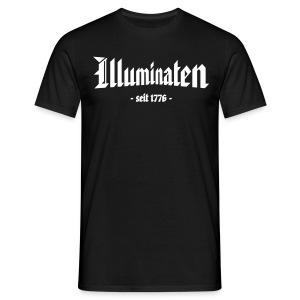 Basis T-Shirt Illuminaten - Männer T-Shirt
