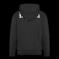 Pullover & Hoodies ~ Männer Premium Kapuzenjacke ~ Kapuzenjacke