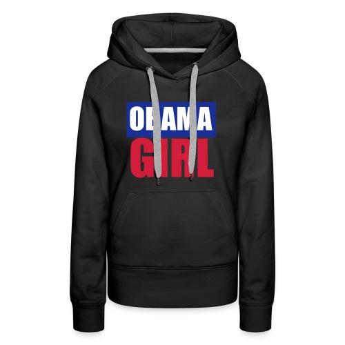 obama girl - Premiumluvtröja dam