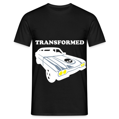 B14-bad14exclusive-transformedcar - Men's T-Shirt