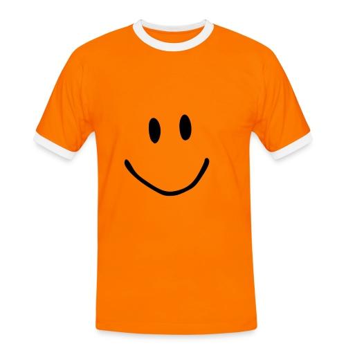 smiley men'st'shirt - Men's Ringer Shirt