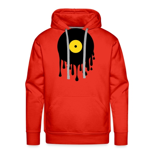 Hot Vinyl - Red/Yellow - Sweat-shirt à capuche Premium pour hommes