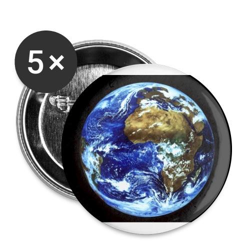 Terre - Badge grand 56 mm