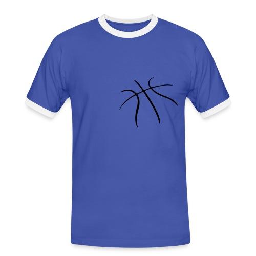 tee-shirt basket - T-shirt contrasté Homme
