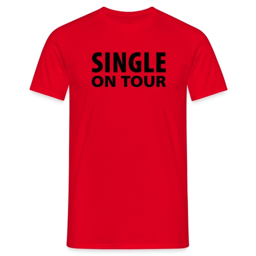 Singel On Tour - Männer T-Shirt