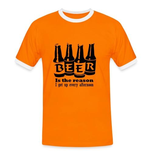 Love me - Männer Kontrast-T-Shirt