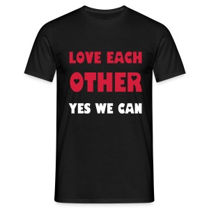 Love each other  - T-shirt Homme