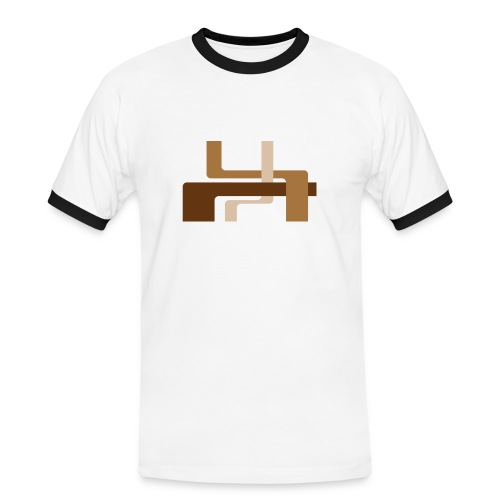 Chocolate Lines - Men's Ringer Shirt
