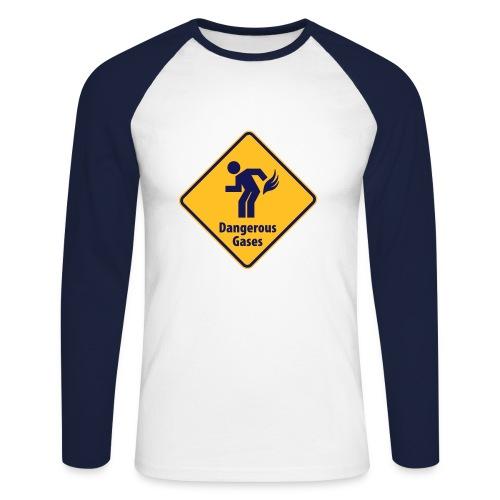 Gases - Men's Long Sleeve Baseball T-Shirt