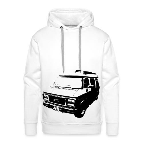 Bus op je trui - Mannen Premium hoodie