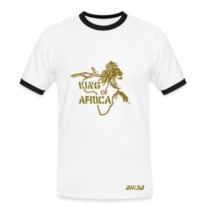 king of africa by diksa - T-shirt contrasté Homme