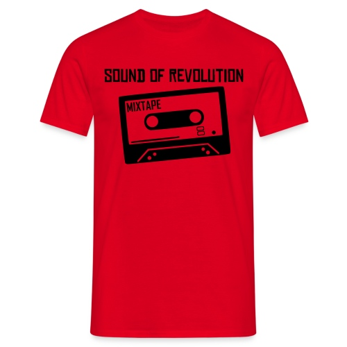 Men's T-Shirt - sound of revolution