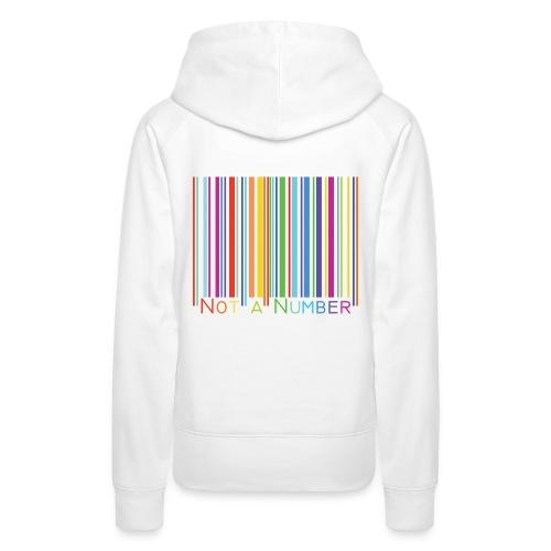 barre-gshir number - Sweat-shirt à capuche Premium pour femmes