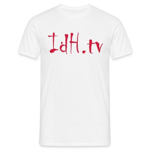 Shirt Basis IdH.tv Logo - Männer T-Shirt