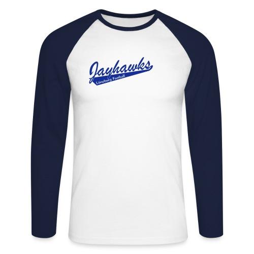Jayhawks Baseballstyle - Männer Baseballshirt langarm