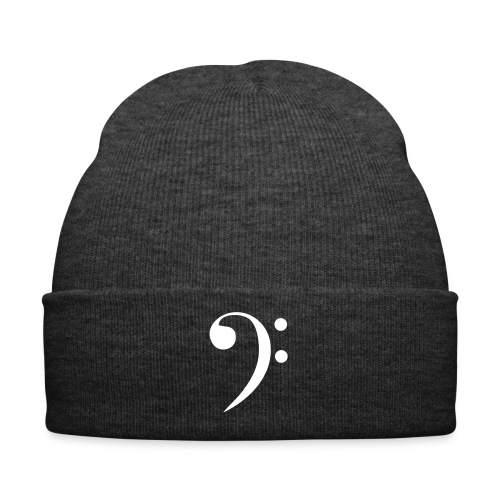 Bass Clef Wooly Hat - Winter Hat