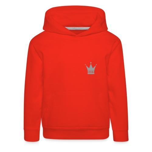 Crown Hoodie - Premium-Luvtröja barn