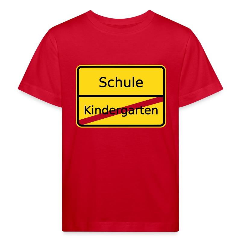 kindergarten ortsschild schule t shirt spreadshirt. Black Bedroom Furniture Sets. Home Design Ideas
