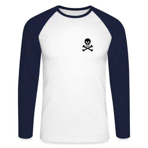 Asphe Pirat - Männer Baseballshirt langarm