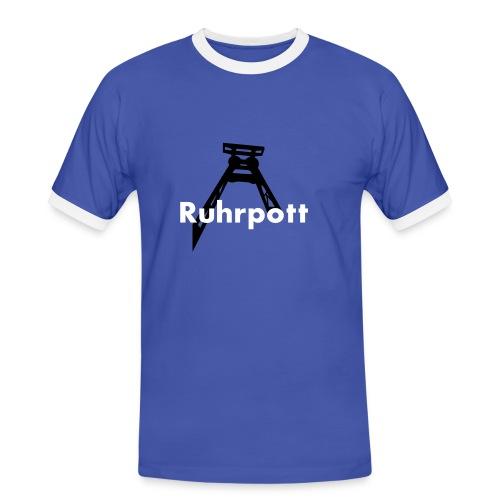 Ruhrpott - Männer Kontrast-T-Shirt