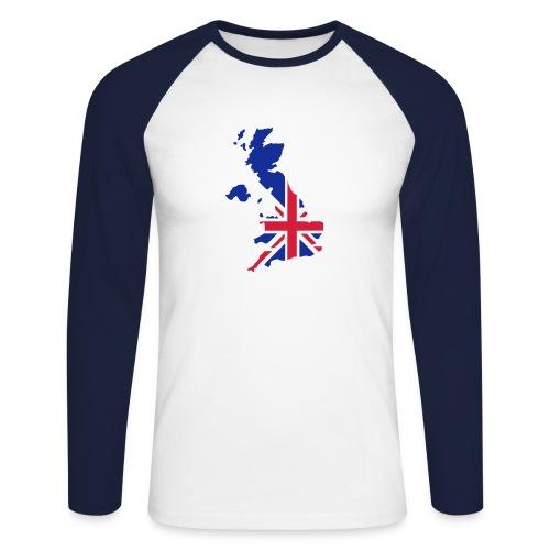 patriot - Men's Long Sleeve Baseball T-Shirt