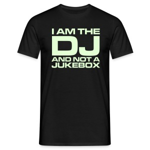 T-skjorte - DJ glow-in-the-dark - T-skjorte for menn