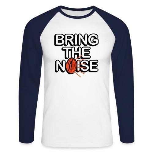 i love music - Men's Long Sleeve Baseball T-Shirt