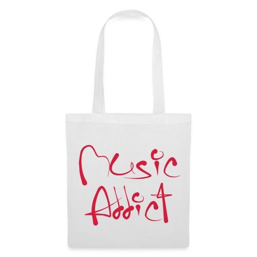 Music addict.   tas - Tas van stof