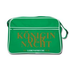 Braun/sand KÖNIGIN DER NACHT Taschen - Retro Tasche
