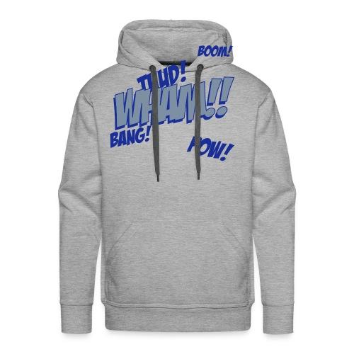 Retro Wham!! based hooded sweatshirt - Men's Premium Hoodie