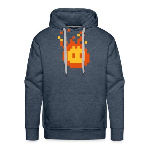 Retro Fireball - Männer Premium Hoodie