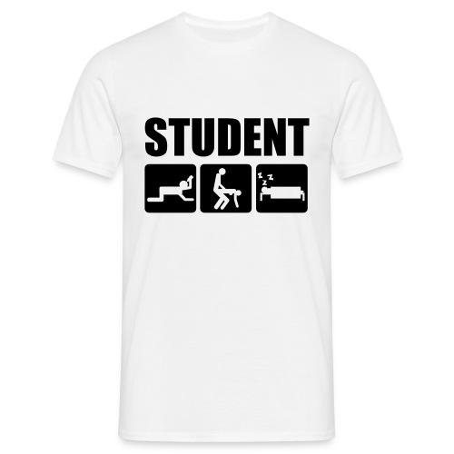 Student - T-shirt herr